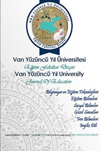 Yüzüncü Yıl Üniversitesi Eğitim Fakültesi Dergisi