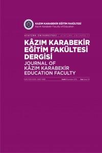 Atatürk Üniversitesi Kazım Karabekir Eğitim Fakültesi Dergisi
