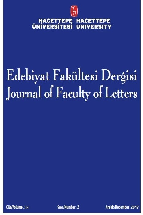 Hacettepe University Journal of Faculty of Letters