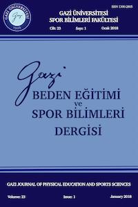 Gazi Beden Eğitimi ve Spor Bilimleri Dergisi