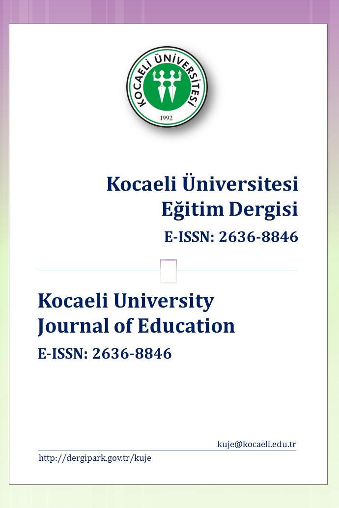 Kocaeli Üniversitesi Eğitim Dergisi