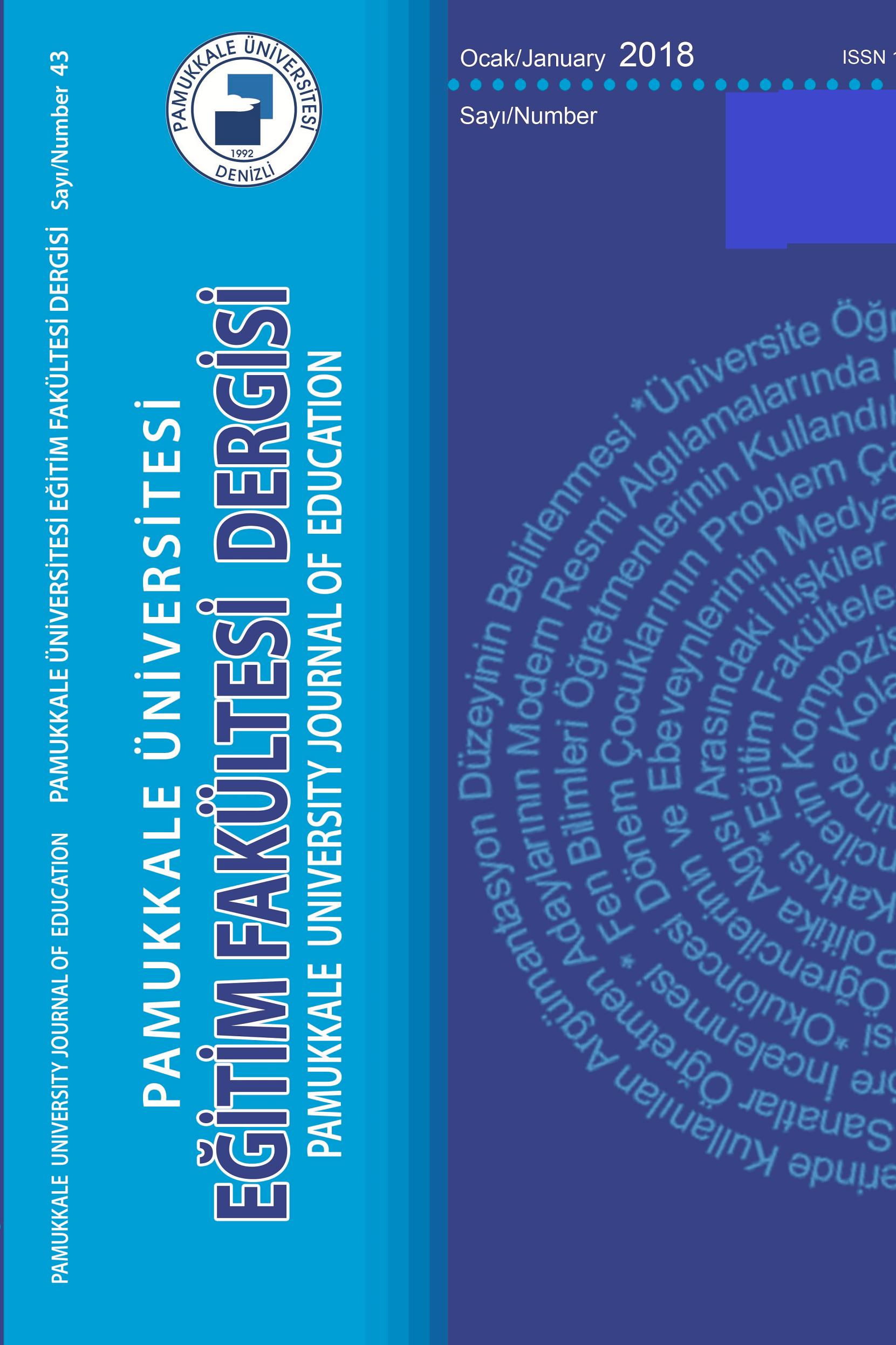Pamukkale University Journal of Education