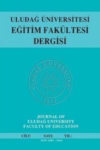 Journal of Uludag University Faculty of Education